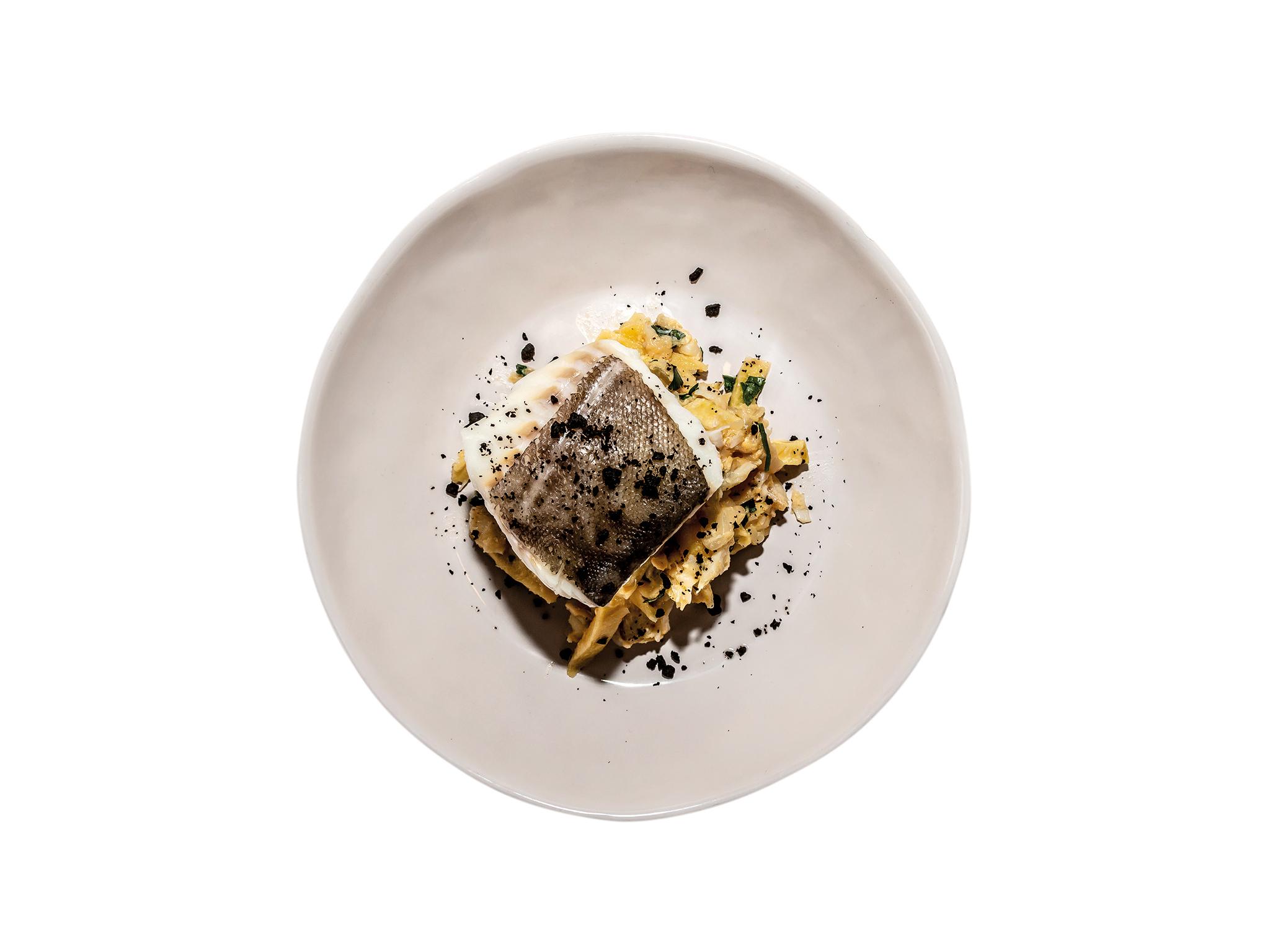 Bacalhau - Bacalhau fresco com bacalhau dourado