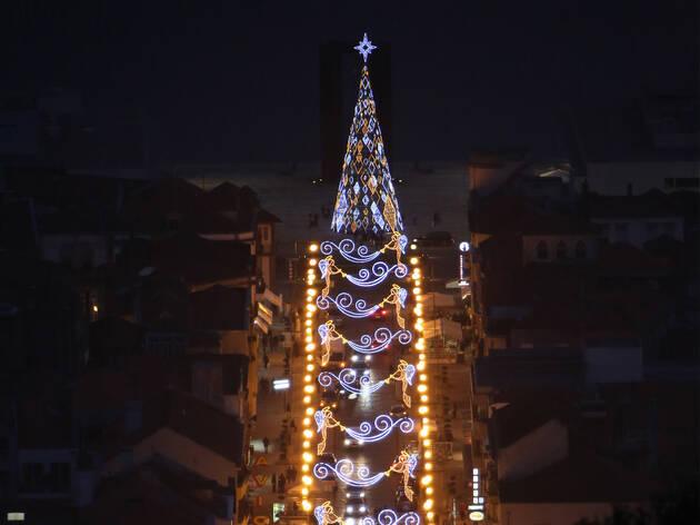 Árvore de Natal em Viana do Castelo