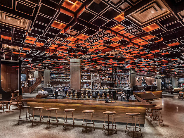 Take a peek inside the Eataly of coffee that Starbucks is opening in the Meatpacking District