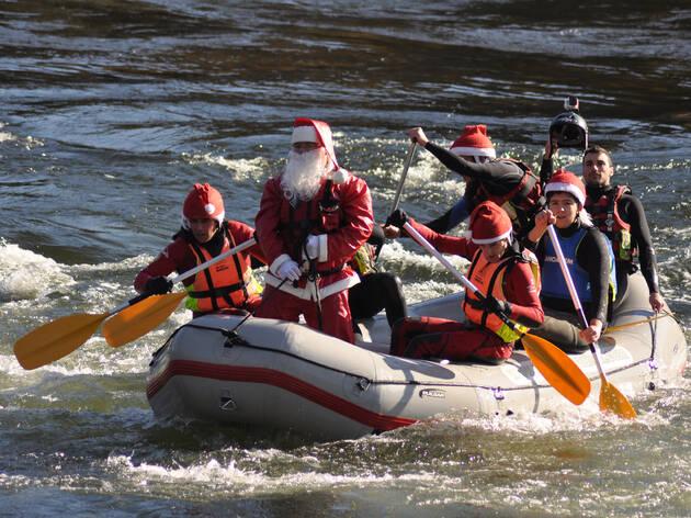 Pai Natal Radical Rafting