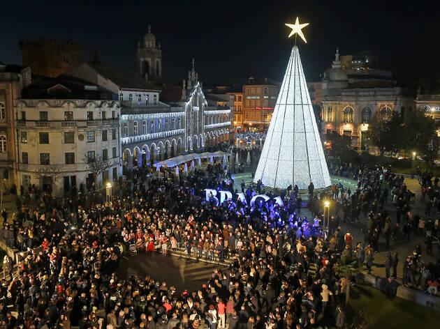 Natal Braga à Noite