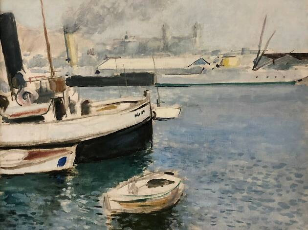 Josep Mompou (1888-1968). El Remolcador. Port de Barcelona, 1929