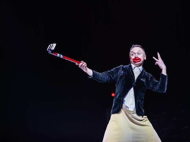 Andrey Jigalov veio directamente do Circo de Monte Carlo / ©Marco Duarte