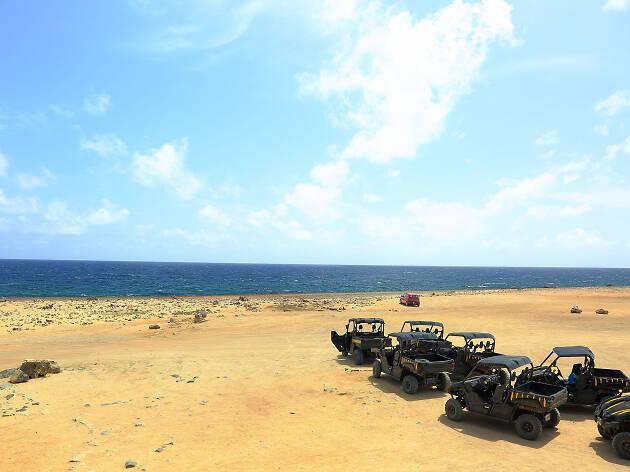 ABC Aruba UTV off-roading