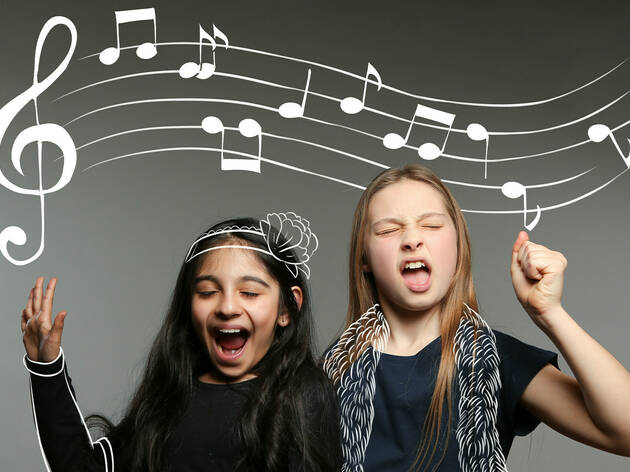 NIDA kids courses music