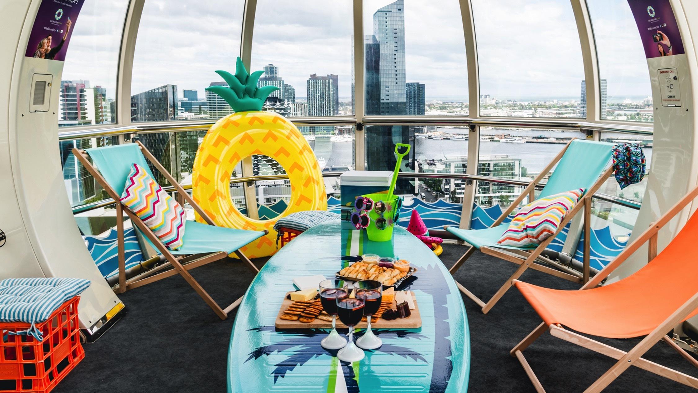 Summer Cabin at Melbourne Star