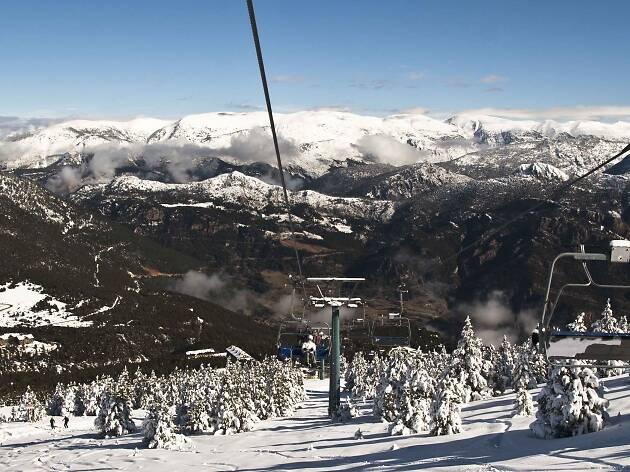 Esquí Alpí a Port del Comte