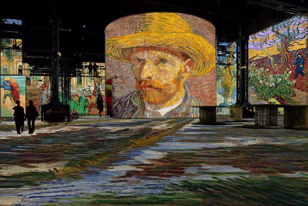 Après Klimt, Van Gogh débarque à l'Atelier des Lumières
