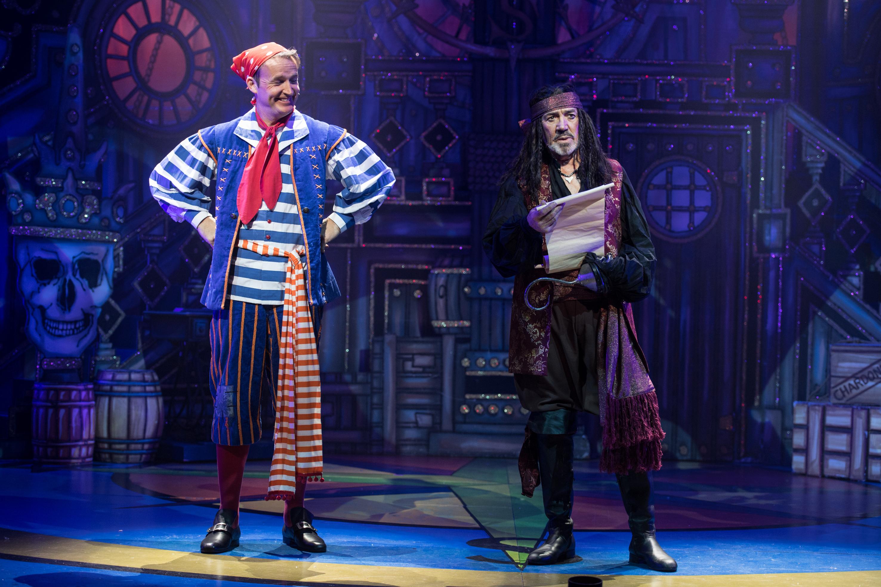 Peter Pan, Richmond Theatre, Robert Lindsay, 2018