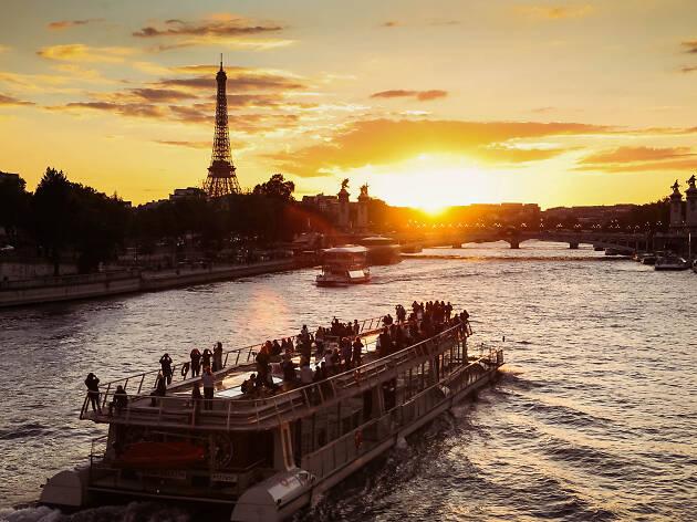 La Seine - Bateaux Parisiens