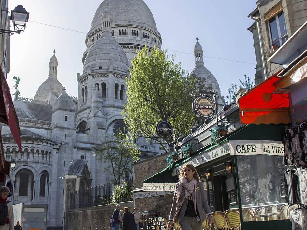 Paris, Montmartre, basilique du Sacré Coeur