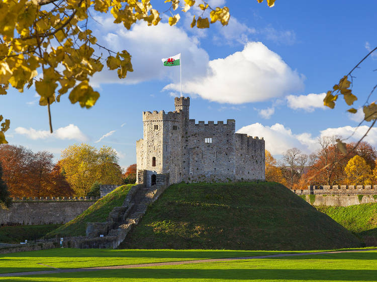 A perfect day in Cardiff