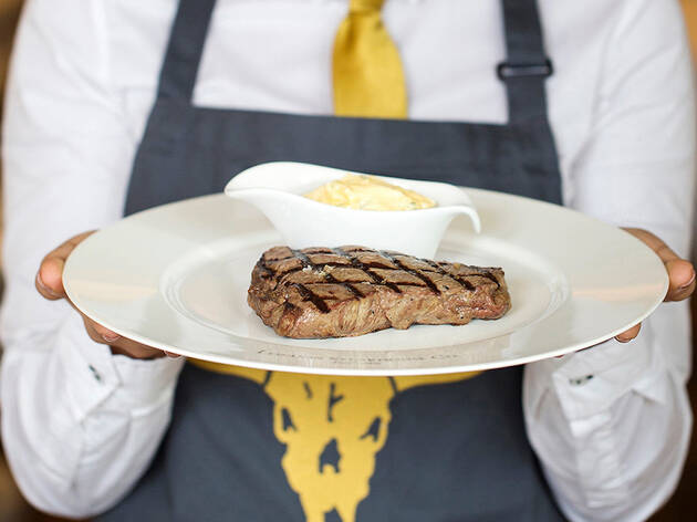 51% off a three-course meal at London Steakhouse Co