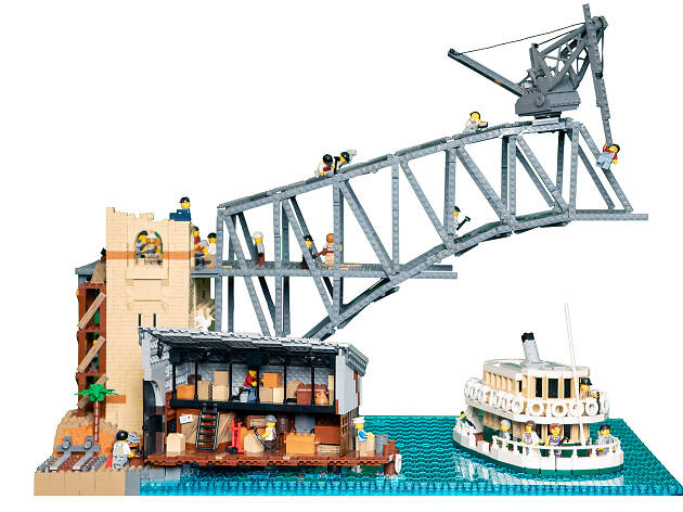 Brickman Cities powered by Lego City