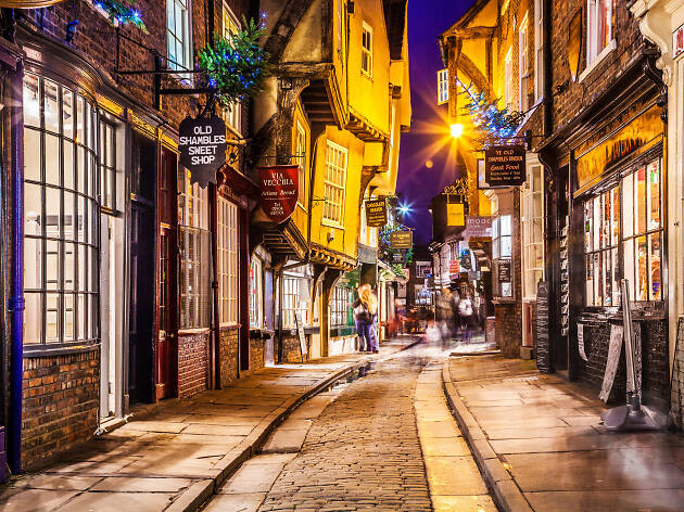 Christmas in The Shambles, York