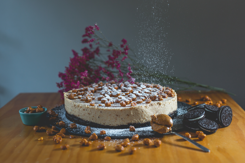Cheesecake de manteiga de amendoim da Mafalda's