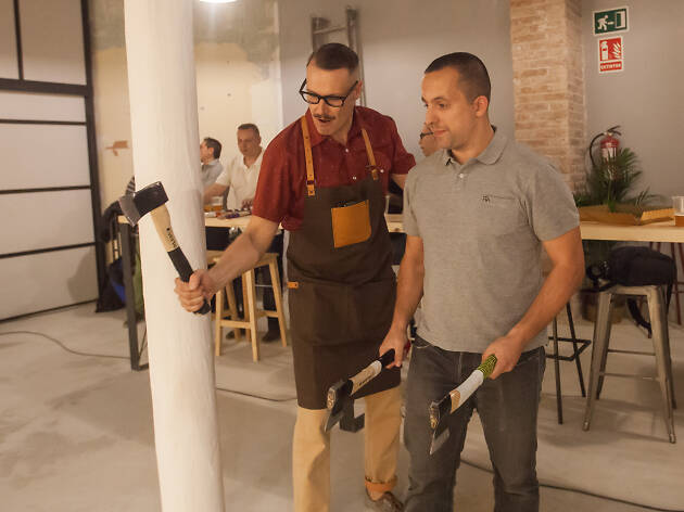 Barcelona Axe Throwing