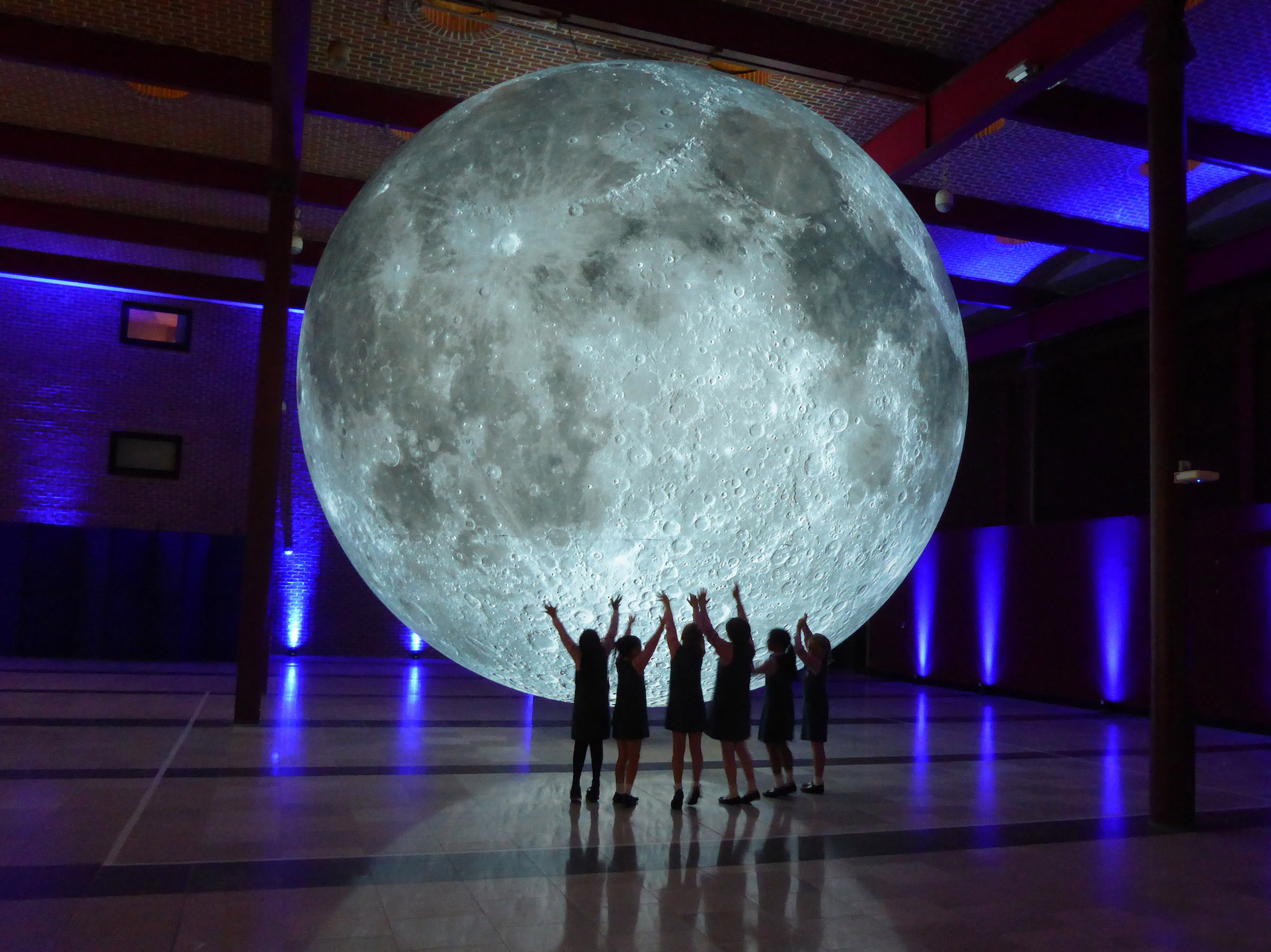 Luke Jerram's Museum of the Moon at Cork