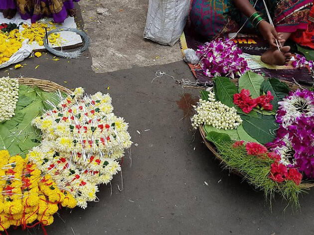 Dadar Flower Market