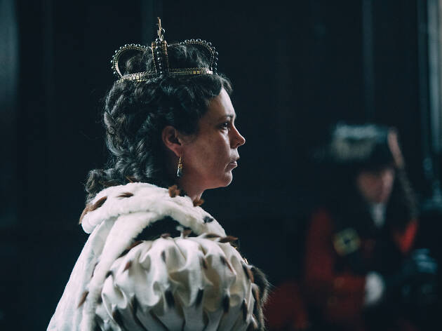 Olivia Colman The Favourite DO NOT REUSE