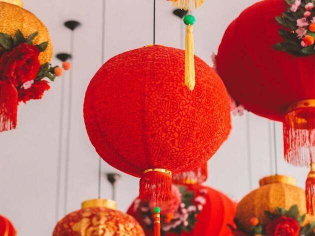 chinese new year, lantern
