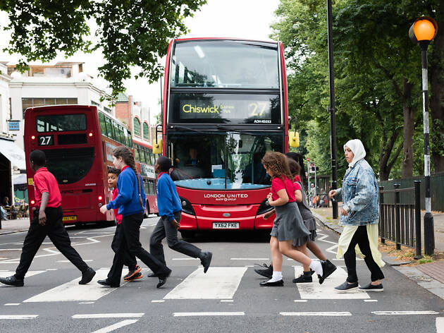Bus stock photography for annual Bus Awards brochure DO NOT REUSE