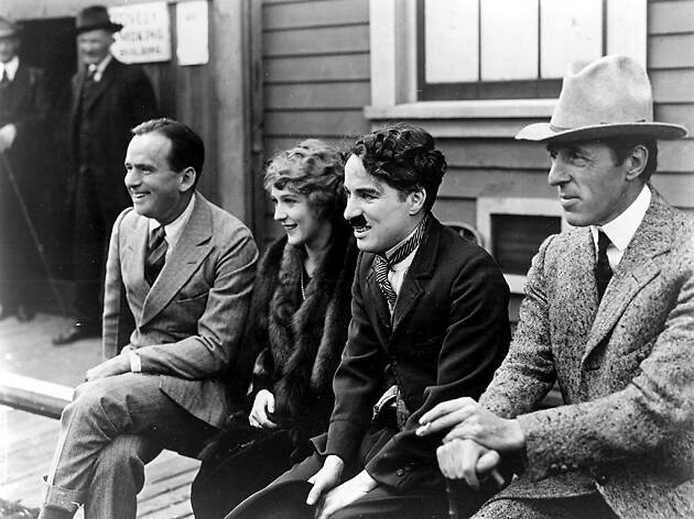 United Artists: Fairbanks, Pickford, Chaplin i Griffith.