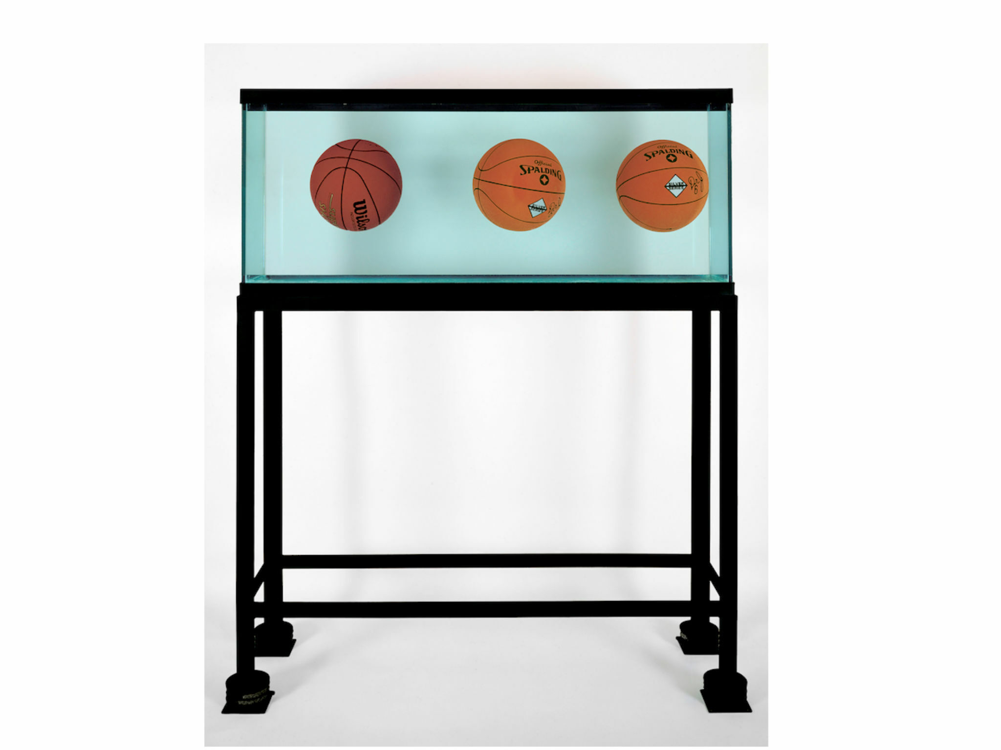 Obra de Jeff Koons en el Museo Jumex en 2019