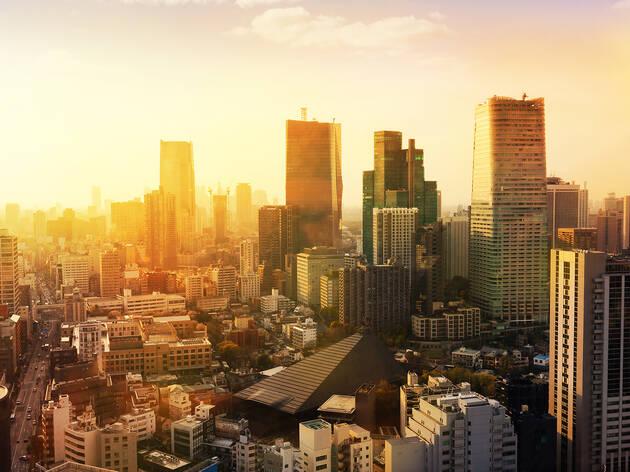 Tokyo sunrise - generic
