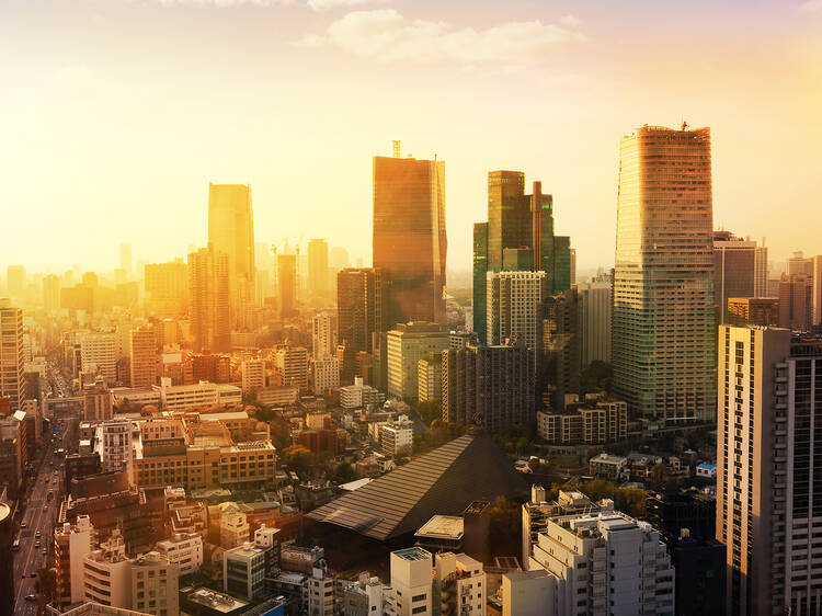 Watch the first sunrise in Tokyo