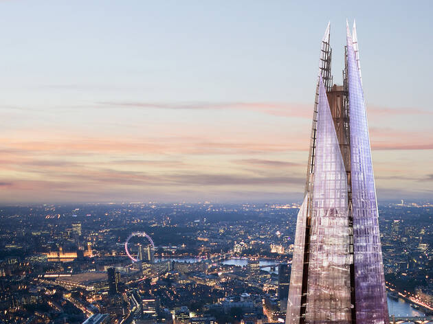 A champagne experience at The View from the Shard