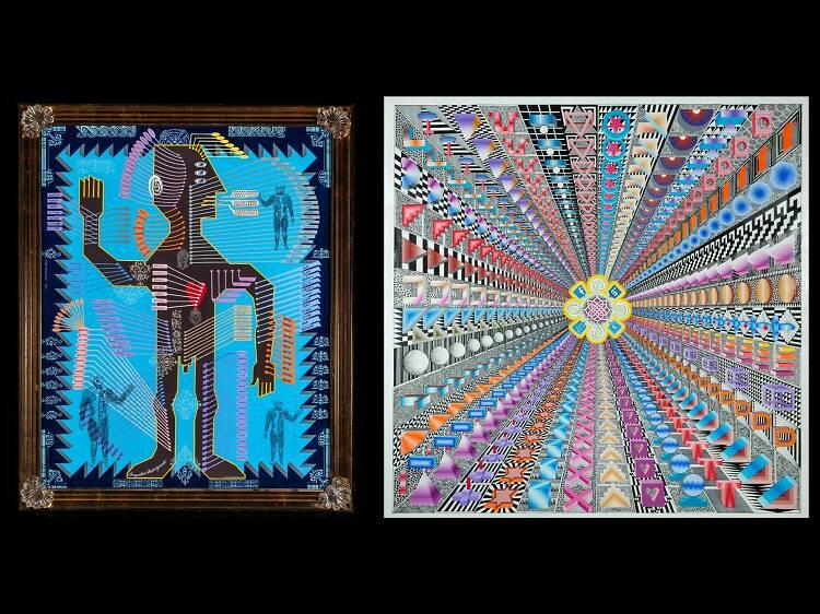 Pedro Friedeberg en Maia Contemporary