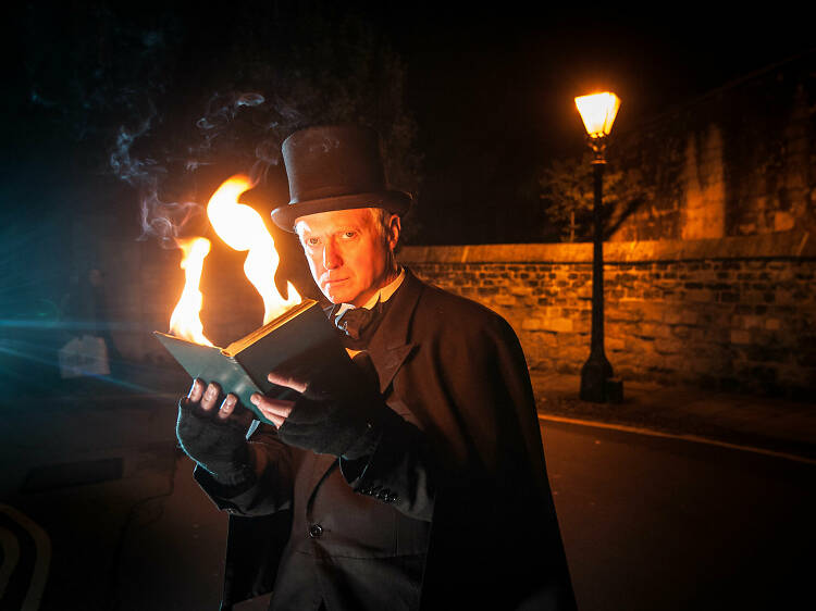 Get spooked on a theatrical ghost trail