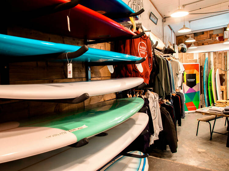 Watershed surf shop and café