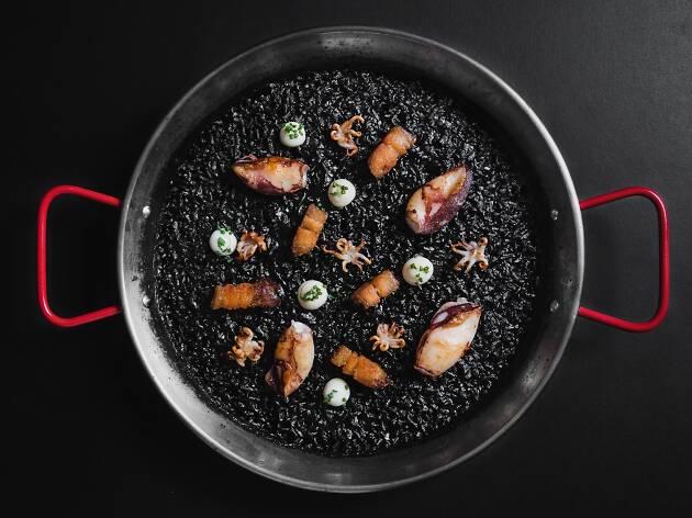 Pica Pica  - black paella rice