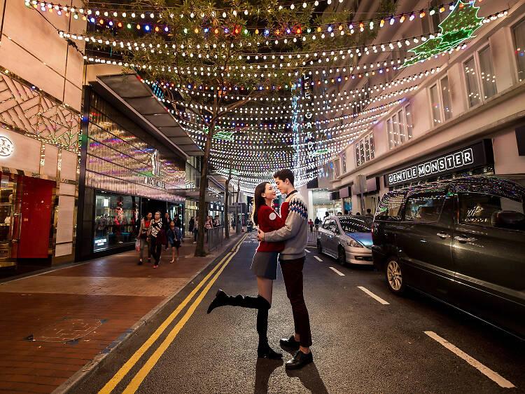 利園:情侶必到浪漫星光迴廊