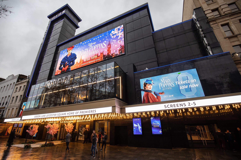 How long until cinemas reopen in London?