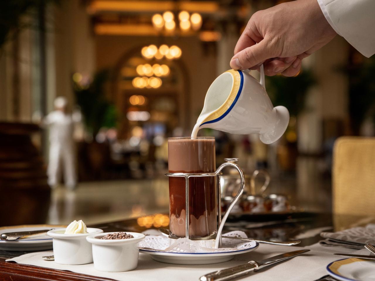 The Peninsula hot chocolate