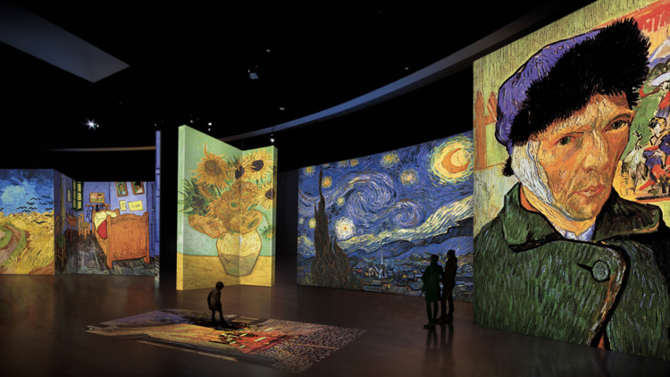 Van Gogh Alive. The Experience