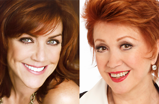 Andrea McArdle and Donna McKechnie