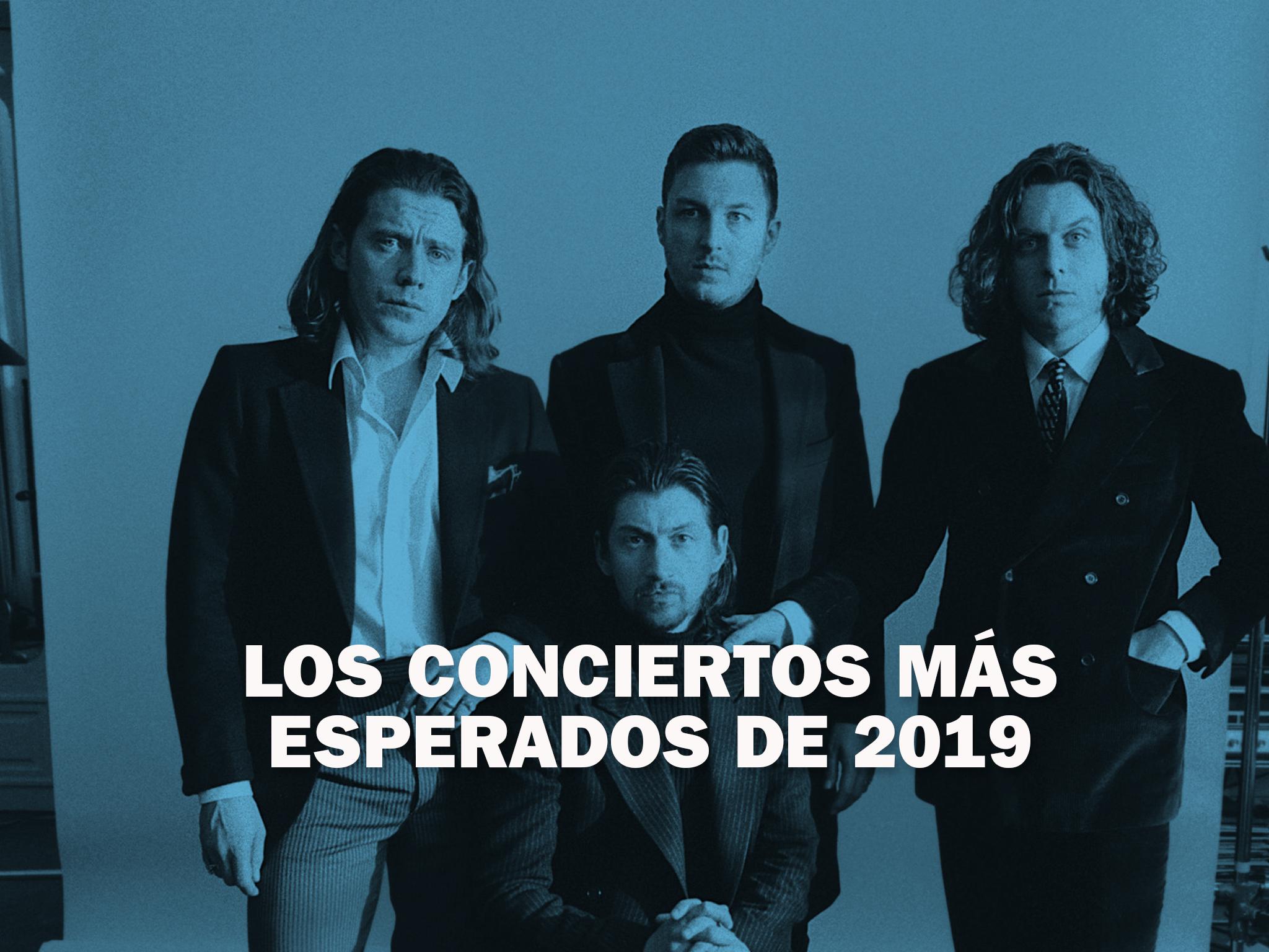 Los conciertos más esperados de 2019 en la CDMX