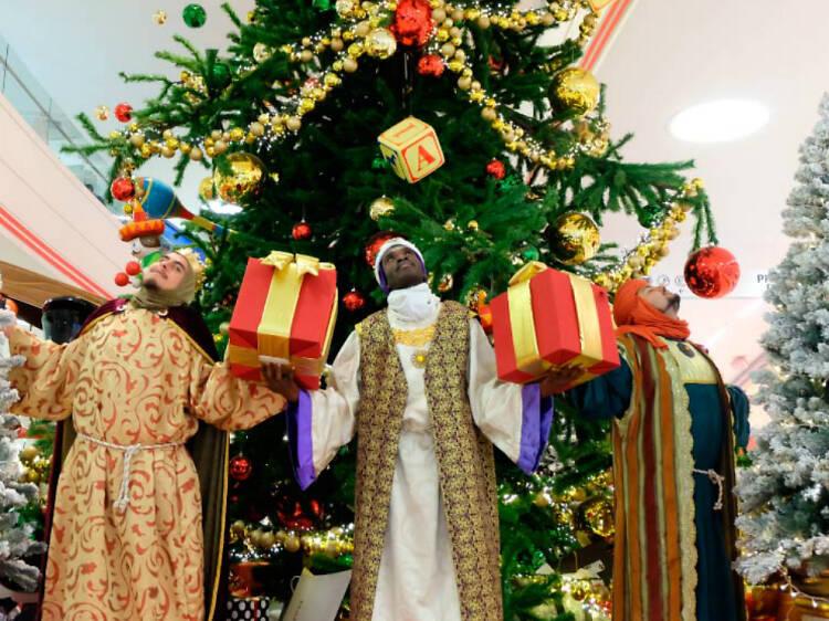 Los Reyes Magos en Laberinto Mágico