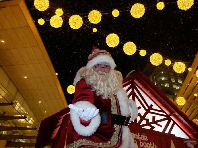 Santa Claus en la CDMX