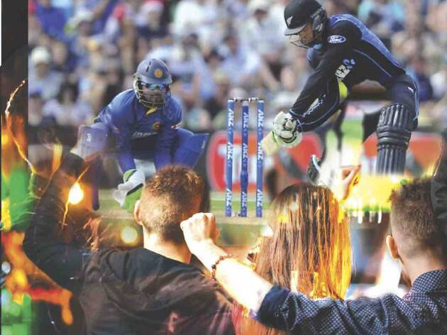 Cricket at the bars and pubs