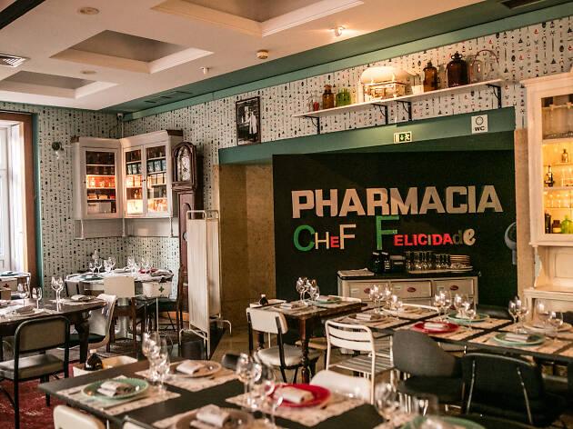 Restaurante, Pharmácia Felicidade