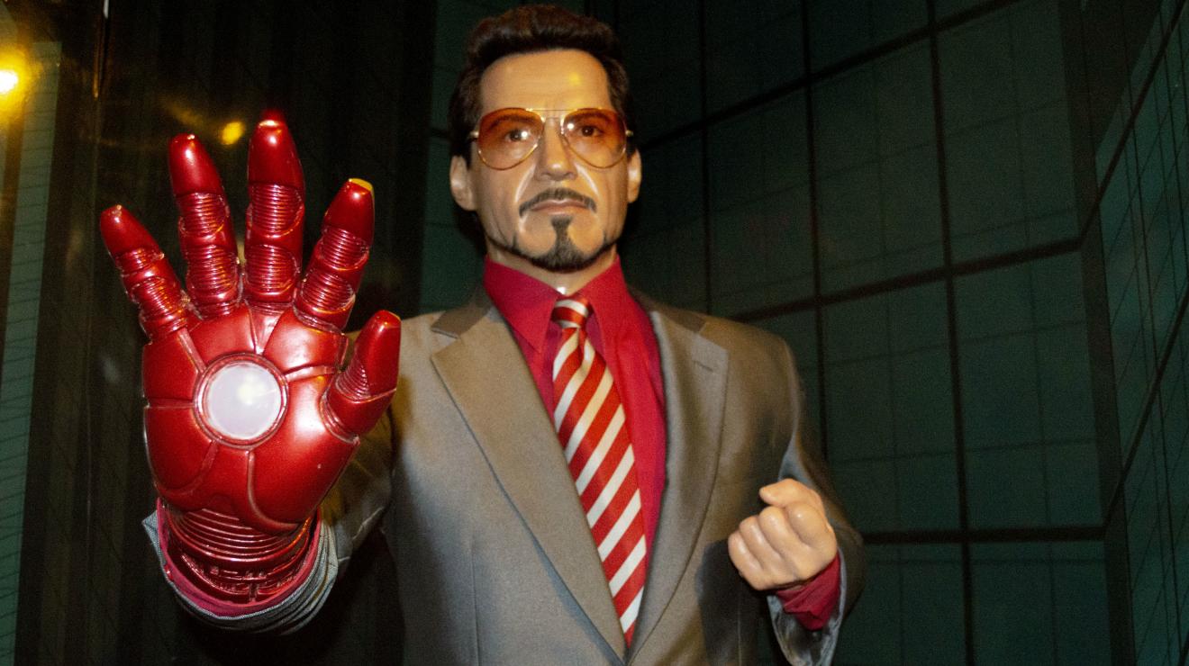 Ironman en el Museo de Cera