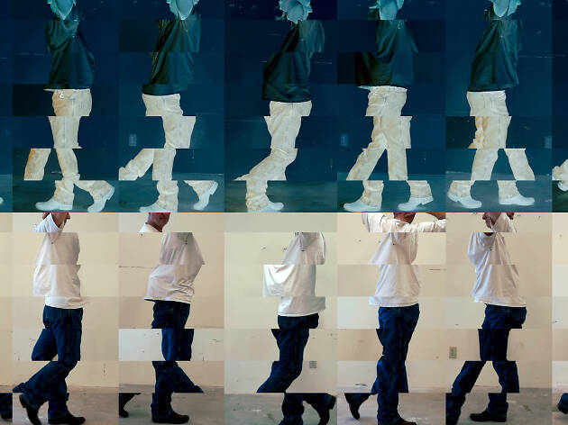 Bruce Nauman, Contrapposto Studies, i through vii, 2015/16