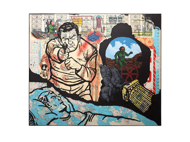 David Wojnarowicz, History Keeps Me Awake at Night (for Rilo Chmielorz), 1986