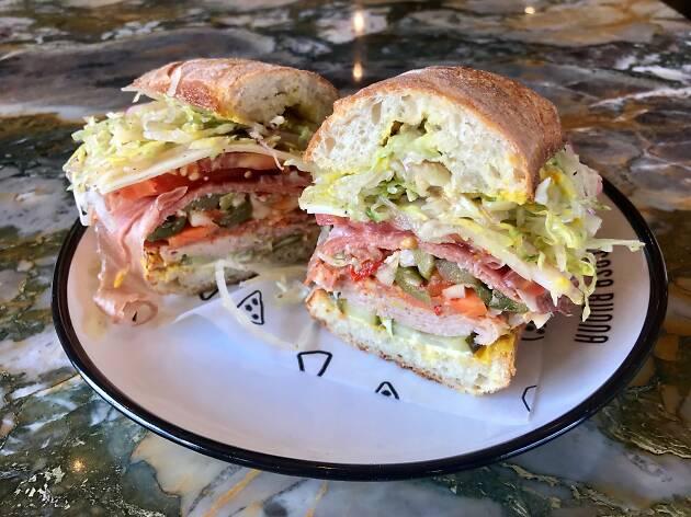 The Stepmother Italian deli sandwich at Cosa Buona in Echo Park