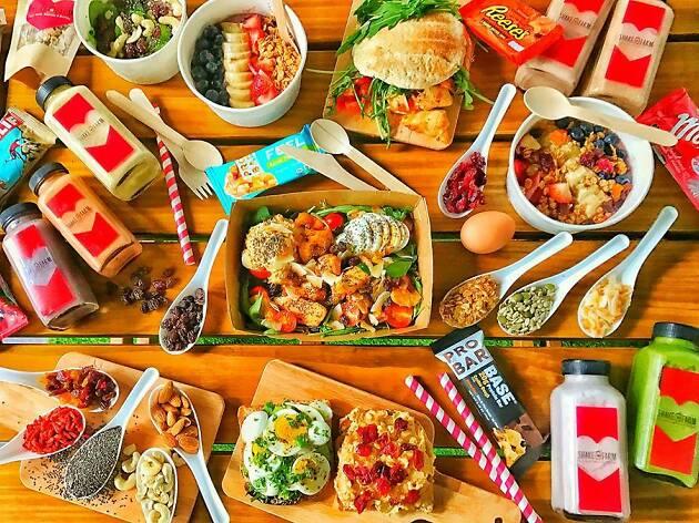 The best healthy restaurants in Singapore
